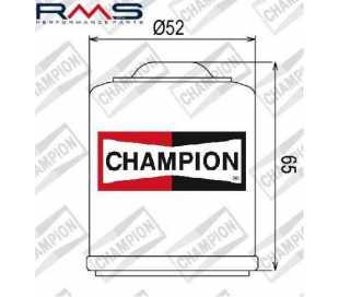 FILTRO OLIO CHAMPION COF083 PIAGGIO APRILIA 125-150-180 (HF183)