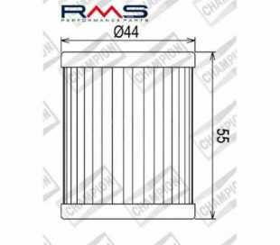 FILTRO OLIO CHAMPION COF032 BURGMAN-MAGESTY 400 99 (HF132)