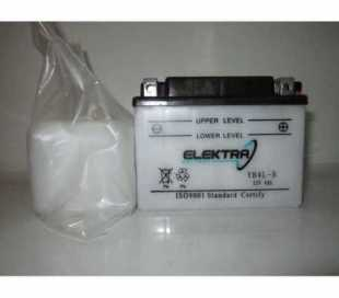 BATTERIA ELEKTRA YB4L-B C/ACIDO 12V 4AH