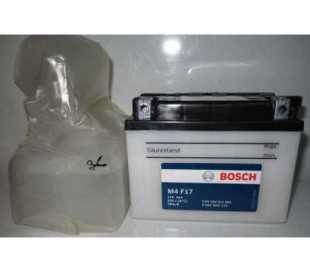 BATTERIA BOSCH YB4L-B C/ACIDO 12V 4AH DIMENSIONI (LxPxA):121x71x93 mm.