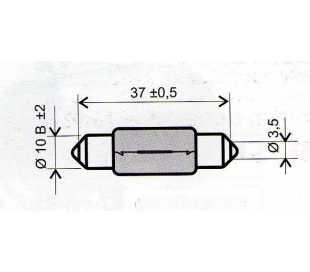 LAMPADA 12V-10W SILURO