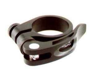 BLOCCAGGIO SELLA BICI D.34,9mm. NERO