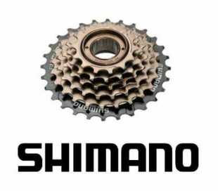 RUOTA LIBERA BICI SHIMANO 6V.A FILETTO