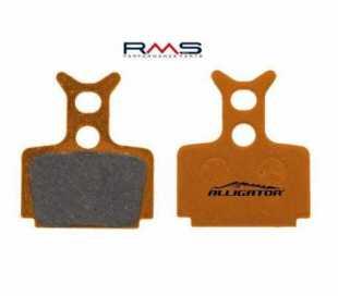 COPPIA PASTIGLIE ORGANICHE ALLIGATOR CON MOLLE PER MEGA - THE ONE FR - THE ONE - R1 - RX 4X33X28 mm.