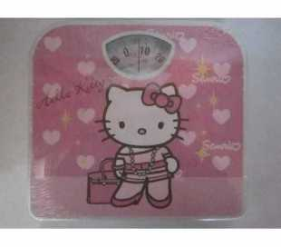 BILANCIA PESAPERSONA MECCANICA HELLO KITTY CAPACITA  MAX 130 Kg.