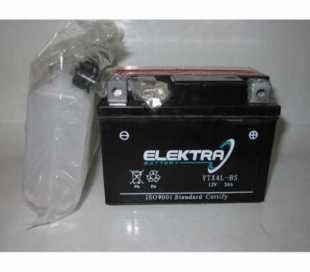 BATTERIA ELEKTRA YTX4L-BS C/ACIDO