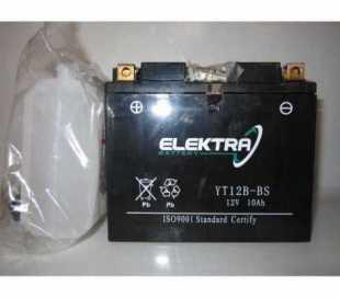 BATTERIA MOTO ELEKTRA YT12B-BS