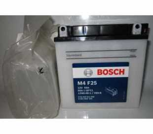 BATTERIA BOSCH YB9-B C/ACIDO 12V 9AH DIMENSIONI (LxPxA):136x76x134 mm.