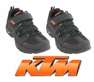 COPPIA SCARPE MTB KTM FCE NERE/ARANCIONI