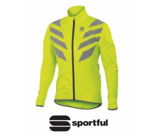 GIUBBINO SPORTFUL REFLEX JACKET ANTIVENTO GIALLO FLUO