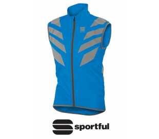 GILET SMANICATO SPORTFUL REFLEX VEST ANTIVENTO BLU ROYAL