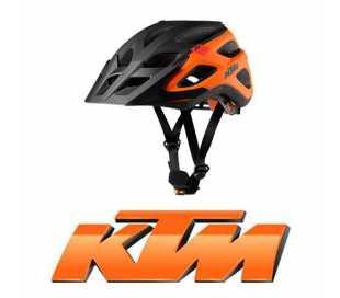 CASCO BICI KTM FACTORY CHARACTER ABS NERO/ARANCIO 52-56cm.