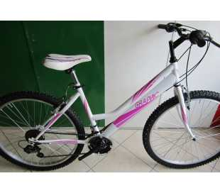 BICI MTB 24 RED MOON LADY 18V.SHIMANO BIANCA