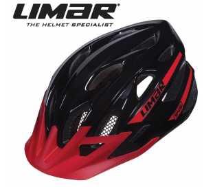 CASCO BICI LIMAR MOD.545 BLACK RED